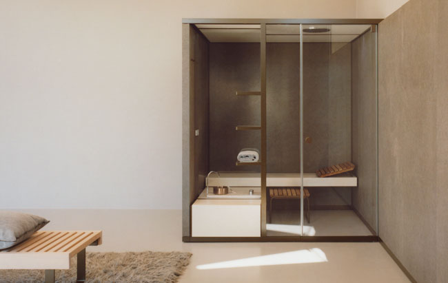 gallery of bodylove il nuovo prodotto sauna hammam disegnato per effegibi da rodolfo dordoni con ...