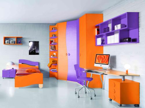 Armadio con tv incorporata una parete attrezzata per la - Camerette da sogno per bambini ...