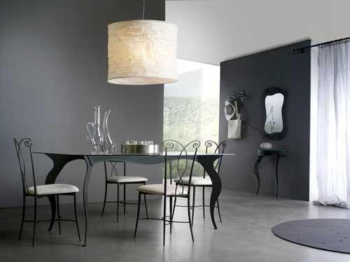 Arredamento In Ferro Battuto A Milano : Tavoli in ferro battuto idee di design per la casa rustify