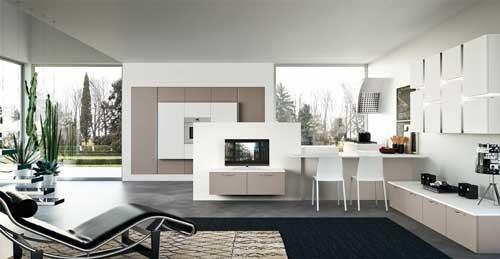 Cucine piccole rifare casa - Open space cucina soggiorno moderno ...