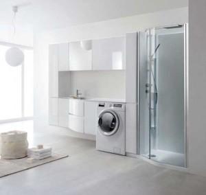 Un elegante locale da adibire a lavanderia rifare casa - Accessori lavanderia casa ...