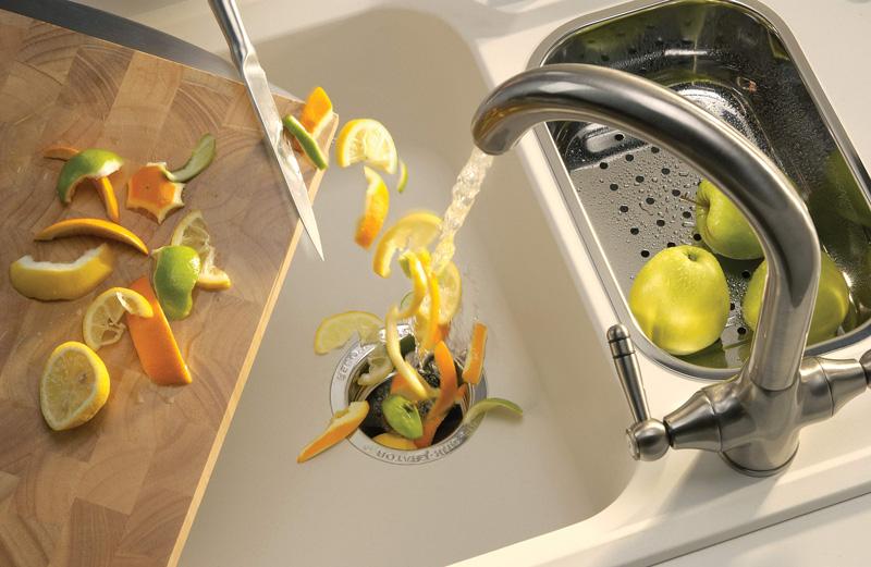 impianti idraulici di una cucina