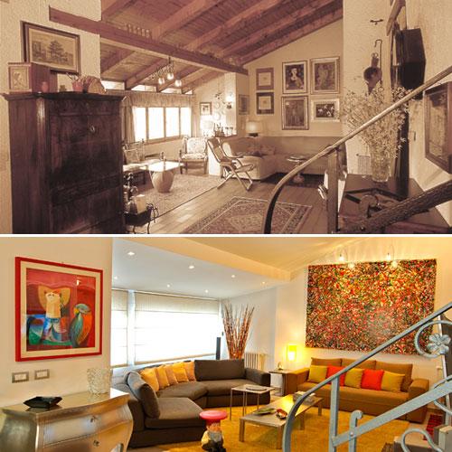 Ristrutturazione villetta degli anni 39 70 rifare casa for Case ristrutturate da architetti foto