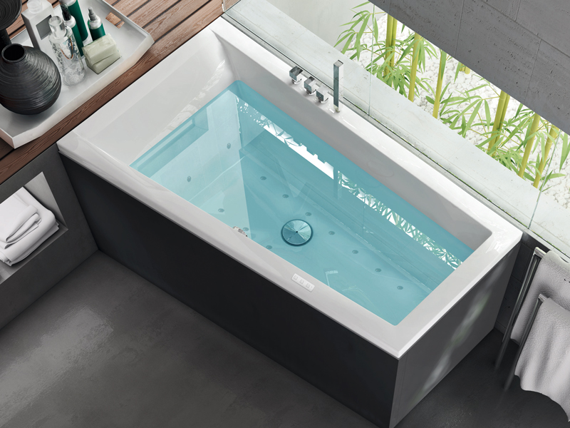Bagno con vasca quale scegliere rifare casa - Vasca da bagno in camera ...