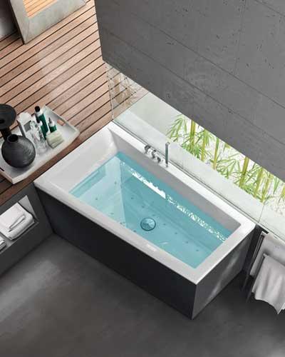 Costruirsi le terme in casa bagno turco sauna e - Bordo vasca da bagno ...