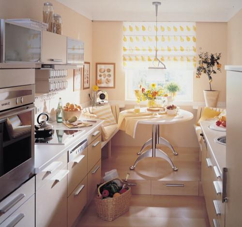 Come progettare la cucina rifare casa - Cucine piccole dimensioni ...