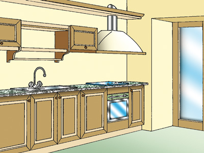 cucina-lineare