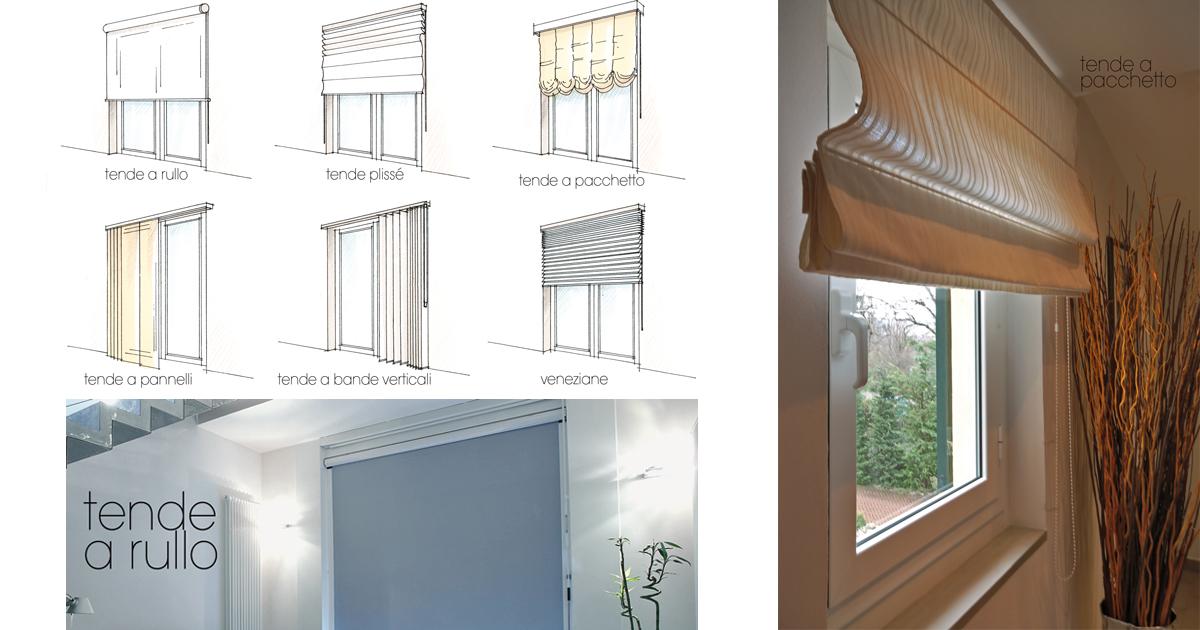 Tende da interni per modulare la luce rifare casa for Tende a righe verticali