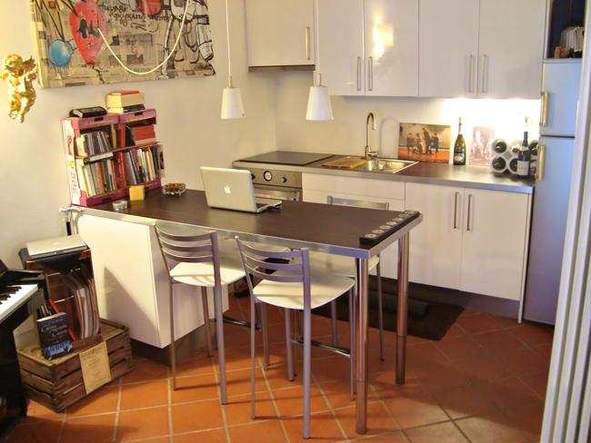 Arch daniela fracassetti da garage ad abitazione - Cucine componibili con lavastoviglie ...