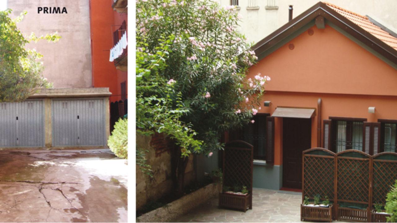 Trasformare Un Garage In Abitazione arch. daniela fracassetti - da garage ad abitazione - rifare