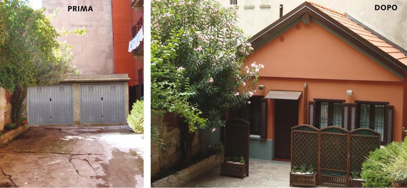 Arch. Daniela Fracassetti – Da garage ad abitazione