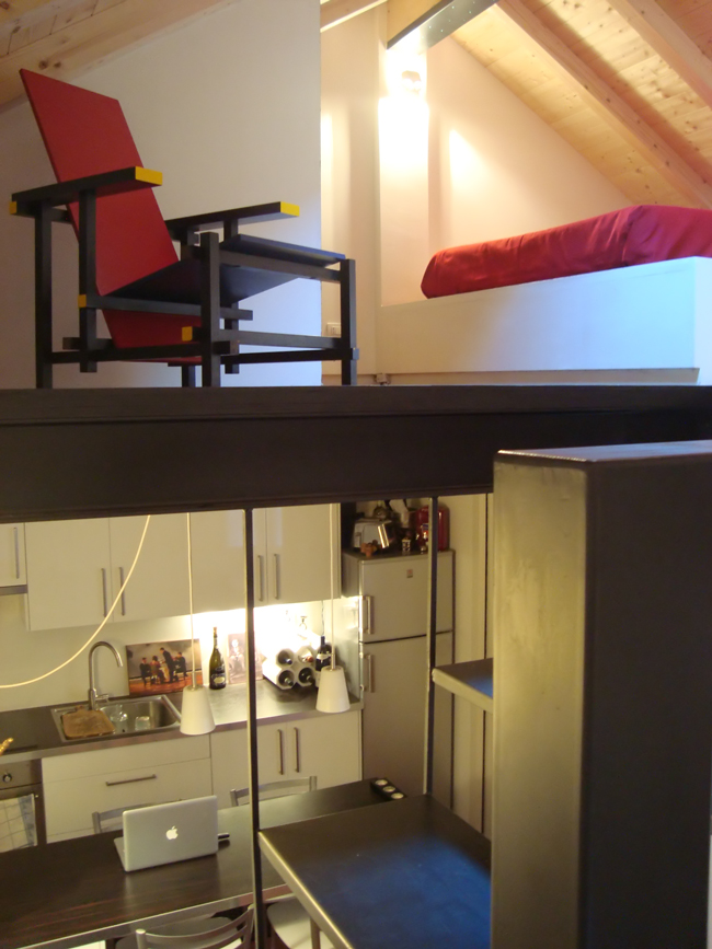 Arch daniela fracassetti da garage ad abitazione - Cambio destinazione d uso da ufficio ad abitazione ...