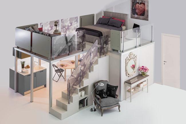 Soppalchi in legno e alluminio rifare casa for 4 piani di camera da letto a due piani