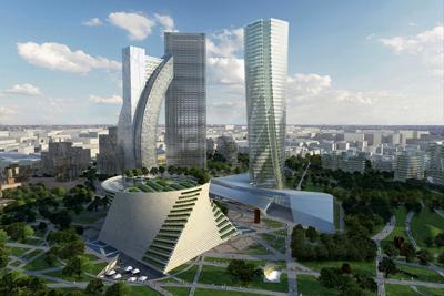 City Life, Milano: isolamento con Silsonic per le nuove torri nella più grande area pedonale della città.