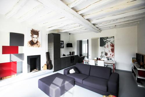 Gianluca murano, miniappartamento di 60 mq   rifare casa