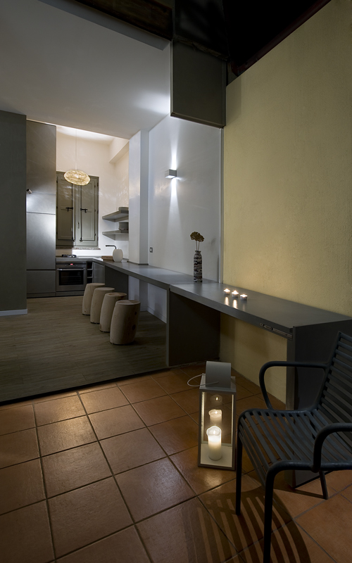 Renato arrigo lo spazio un lusso rifare casa for Lo space senza pareti