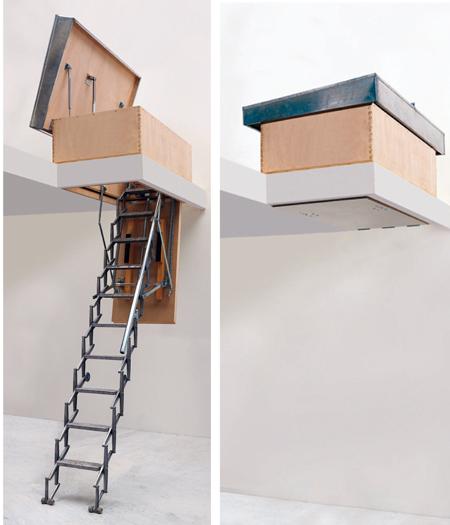 Scale retrattili rifare casa - Scale a botola da soffitto ...