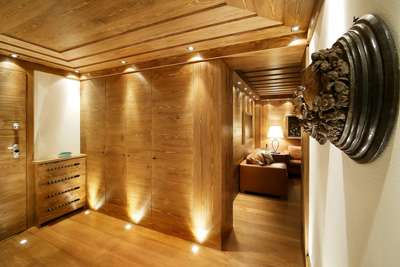 Da appartamento anni 39 70 a chalet di montagna rifare casa - Illuminazione casa montagna ...