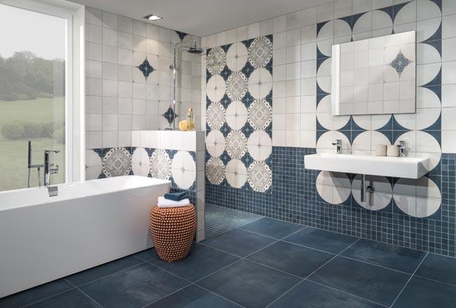 piastrelle bagno moderno, scelta e installazione - rifare casa - Bagni Moderni Mattonelle