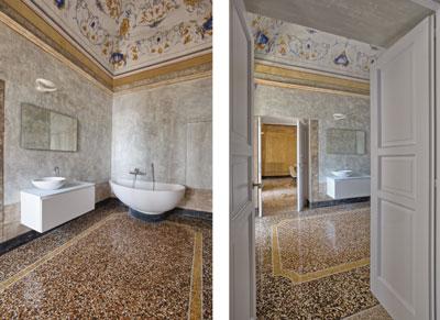 Studio officina82 restauro in una palazzina ottocentesca rifare casa - Porta sali da bagno ...
