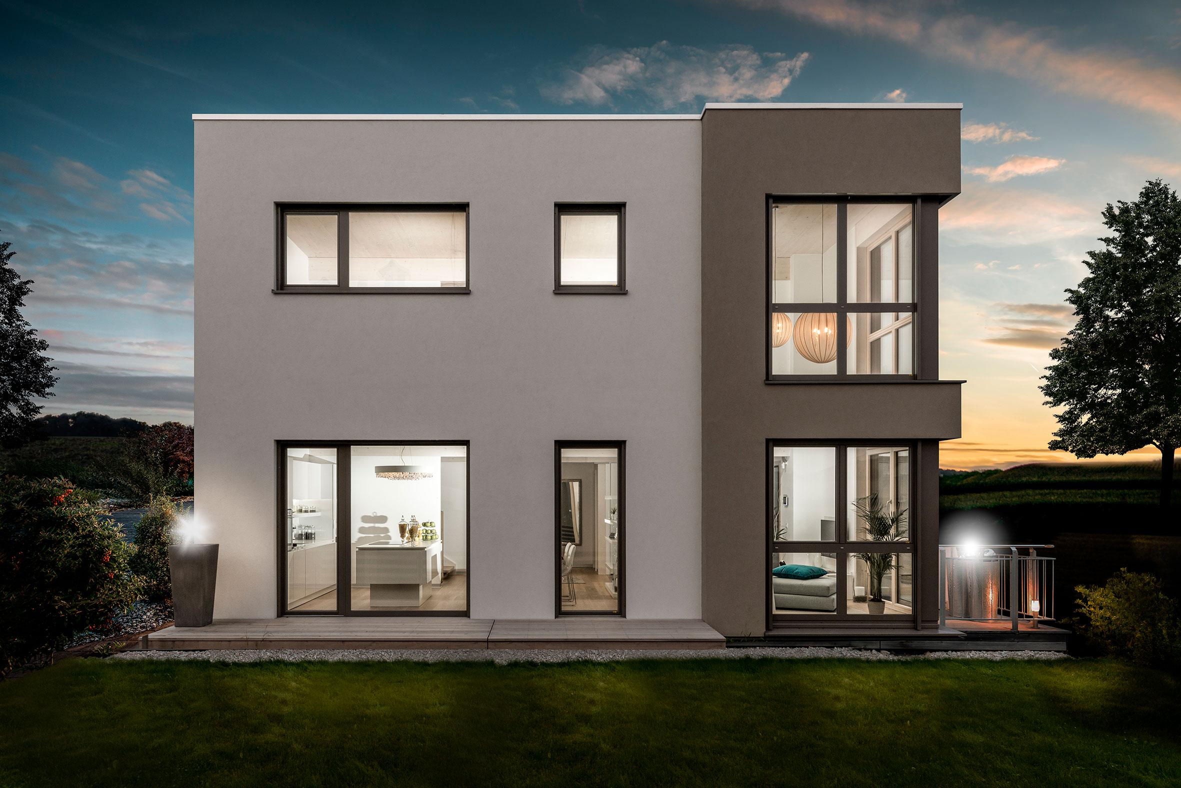 Griffner il piacere di abitare ha preso casa a crema for Fondazioni per case in legno