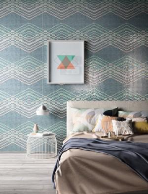 Mosaico su rete, perfetto in ogni stanza
