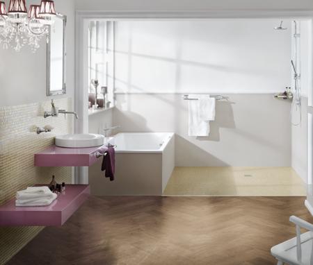 Bagni moderni rifare casa - Pareti bagno senza piastrelle ...