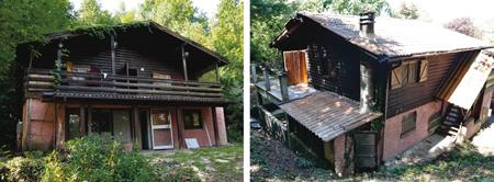 casa prefabbricata prima dei lavori