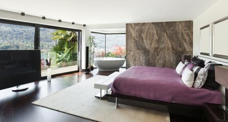 Camera da letto con bagno e cabina armadi rifare casa - Camera da letto in muratura ...