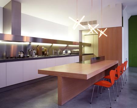 Buratti architetti da fabbrica a loft rifare casa for Enormi isole di cucina