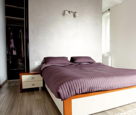 Camera da letto con bagno e cabina armadi rifare casa - Armadio dietro letto matrimoniale ...