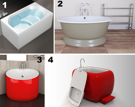 Vasche Moderne Mini Per Bagni Piccoli Rifare Casa
