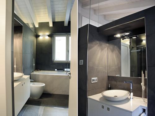 Veronica giuliano architetto sottotetto metropolitano - Bagno in mansarda non abitabile ...