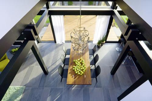 interno casa passiva Fachwerkbau