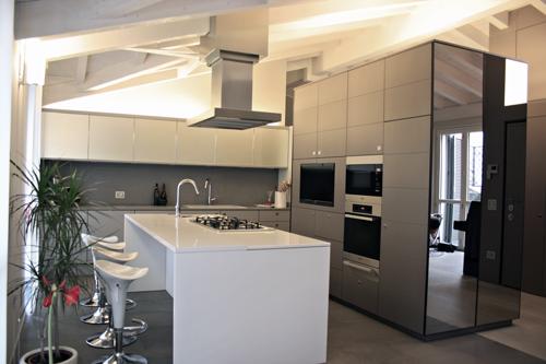 cucina-sottotetto - Rifare Casa