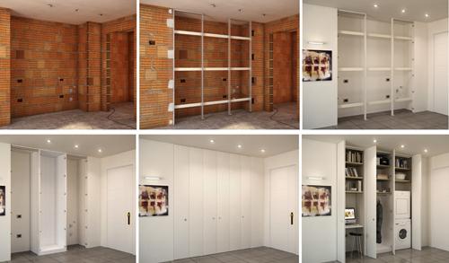 Costruire Armadio A Muro.Installazione Armadio A Muro Rifare Casa