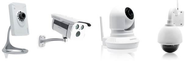 Thomson presenta la nuova gamma di videocamere IP Plug&Play