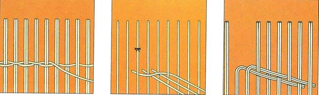esempi di fibre intrecciate