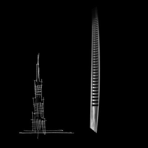 Skyline ispirazione grattacielo