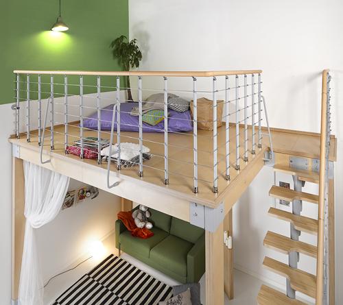 Soppalchi per abitazioni excellent soppalchi per for Rintal scale prezzi