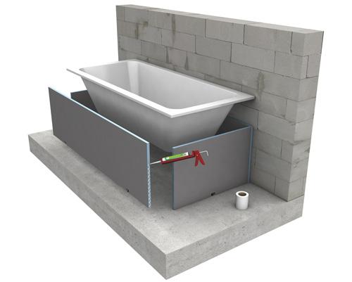 Vasca Da Bagno Montaggio : Intere strutture di schiuma rifare casa