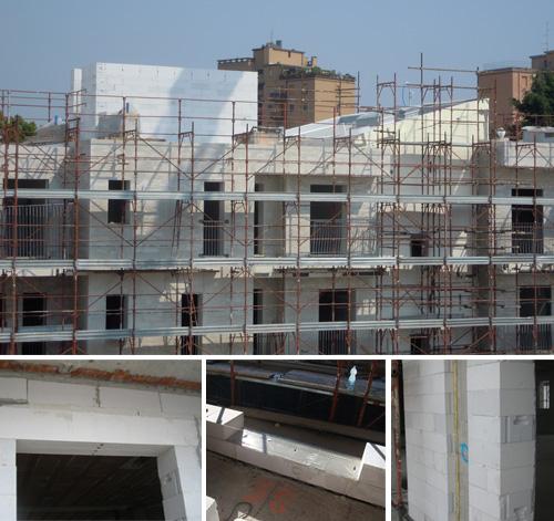 costruzione appartamenti Progetto Life