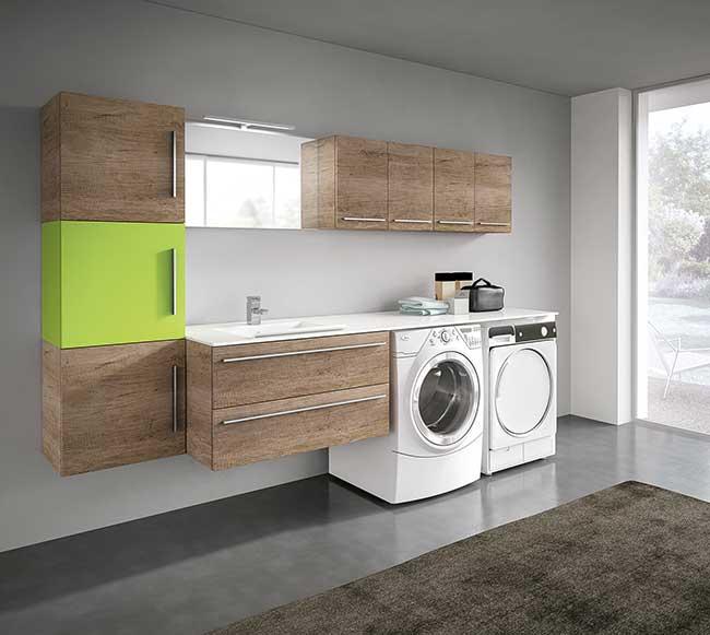 Bagno lavanderia store di hafro geromin rifare casa - Bagno di servizio con lavanderia ...