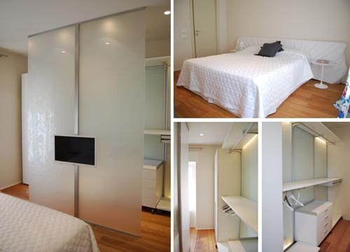 camera-da-letto-e-cabina-armadio - Rifare Casa