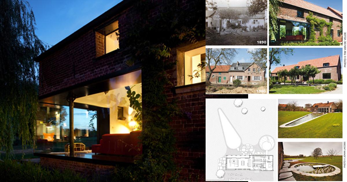 Da fattoria a moderna abitazione studio farris rifare casa for Abitazione moderna