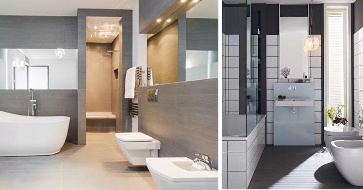Ristrutturare il bagno rifare casa - Bagno e antibagno ...