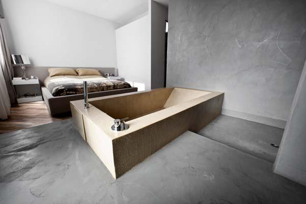 Pavimenti in resina autolivellanti basso spessore - Pavimenti bagno in resina ...