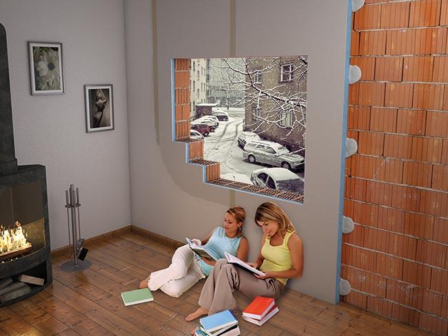 Isolamento termico interno rifare casa