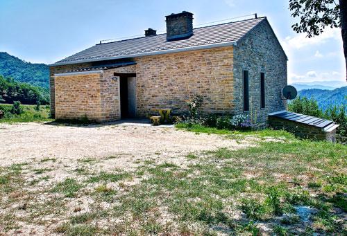 Ristrutturazione di un edificio rurale con blocchi Porotherm Wienerberger