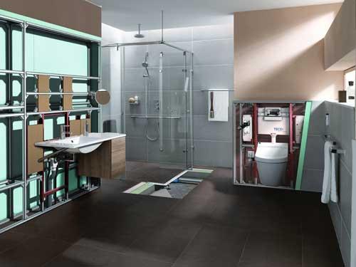 rifare il bagno senza demolizioni